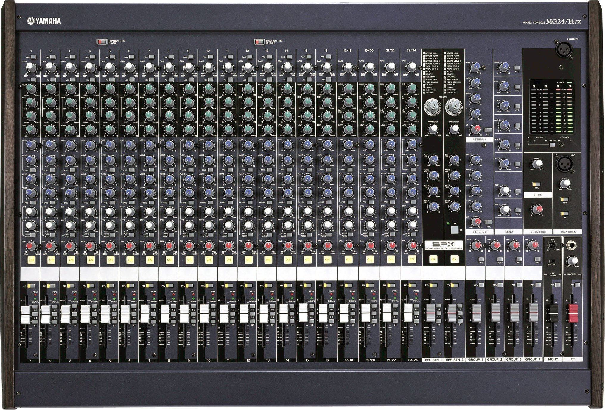 What I Sa Control Room Out On A Mixer Board