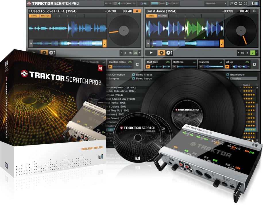 Native Instruments Traktor Version Pro 2.6.2 R112 Mezclador de Musica professional
