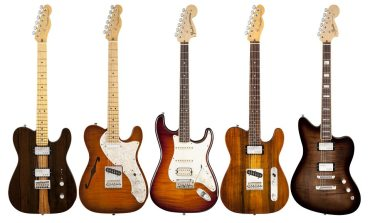 fender select 2013.guitarrras