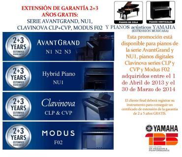 extension garantia yamaha