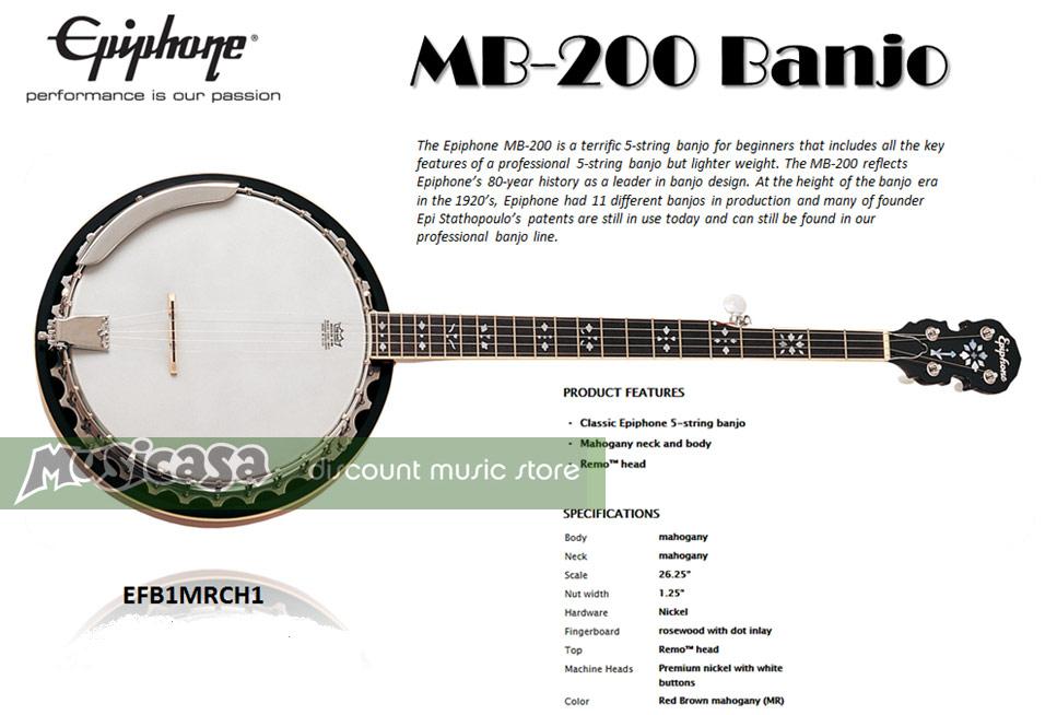 banjo.epiphone.mb200
