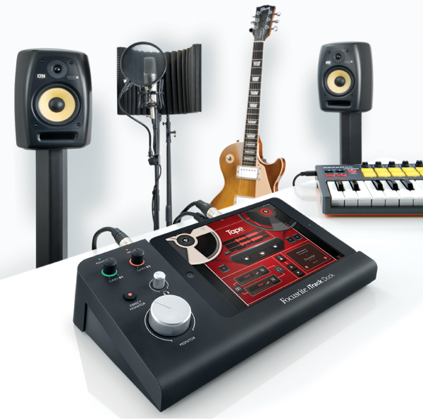 Focusrite iTrack Dock is a Serious Lightning iPad Accessory for Recording Music