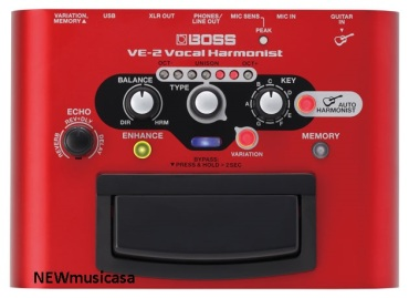 BOSS VE-2.VOCAL