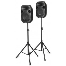 SKY SPS0122 SISTEMA PA COMPLETO 1X12 STANDS CABLES