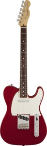 Limited Edition American Standard telecaster Channel Bound, Rosewood Fingerboard, Dakota Red