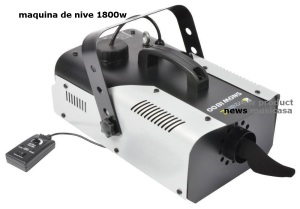 SNOW NIEVE 1800 Maquina de nieve