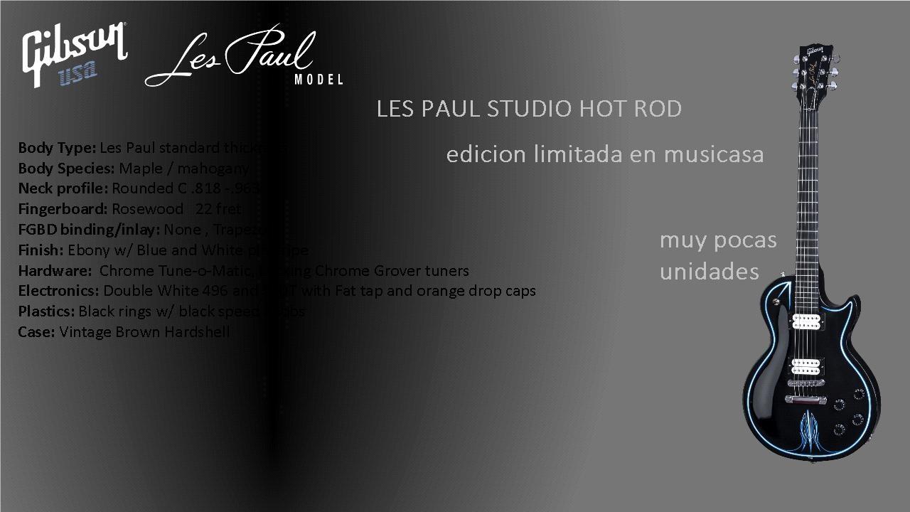Limited Edition Les Paul Studio Hot Rod | My Les Paul Forum
