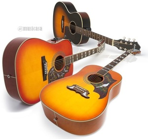 COLORES EPIPHONE HUMMMINGBIRD PRO