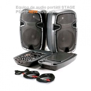 Equipo de audio portátil STAGE PS300-D