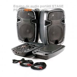 Equipo de audio portátil STAGE PS300-D
