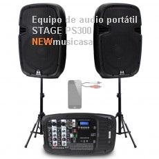 Equipo de audio portátil STAGE PS300-V
