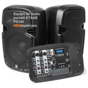 Equipo de audio portátil STAGE PS300