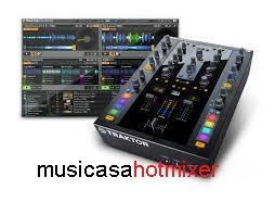 NATIVE TRAKTOR KONTROL Z-2 DJ MIXER CONTROLLER 2+2