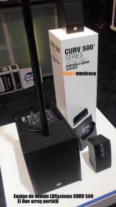 Equipo de sonido LDSystems CURV 500CN0505