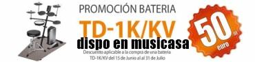 Descuento de 50€ en Roland TD-1K KV