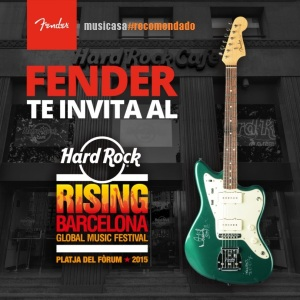 Fender te invita al Hard Rock Rising