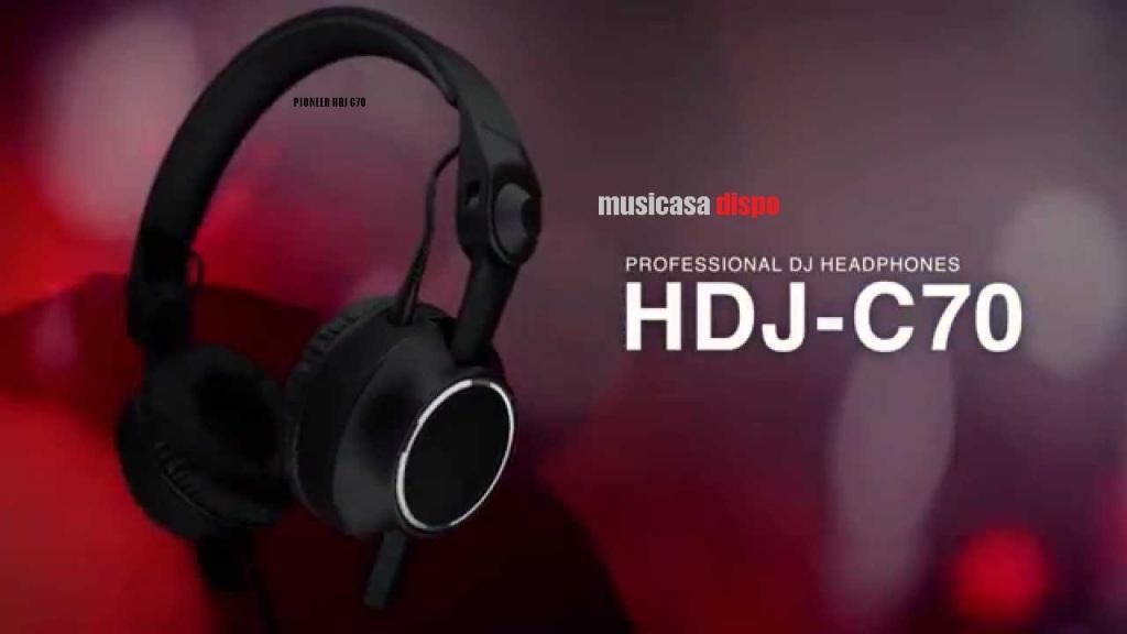 PIONEER HDJ C70  bann