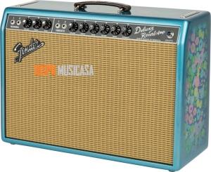Fender 65 Deluxe Reverb en Blue Flower, un fresquito acabado veraniego para el clásico sonido Fender