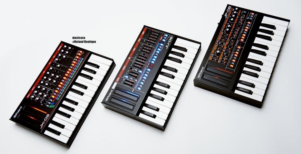La serie de módulos Roland Boutique de edición limitada reproduce sintetizadores legendarios de Roland