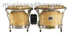 MEINL FWB-400EBK  Bongo Profesional 7 +9 EBONY BLACK Freeride b