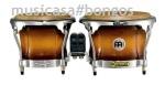 MEINL FWB-400EBK  Bongo Profesional 7 +9 EBONY BLACK Freeride System