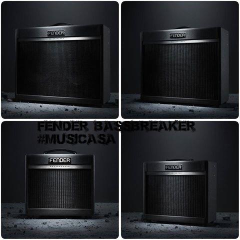 Aquí tienes los cuatro combos de la nueva serie Fender Bassbreaker... ¡Tono Fender! 788149815_8875455295956998661_n