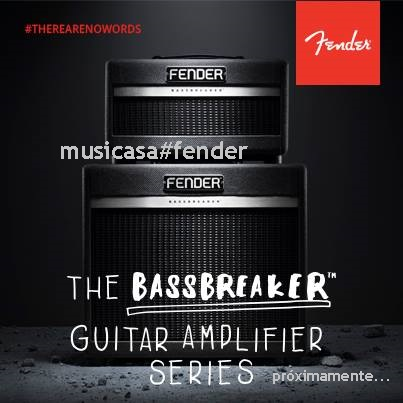 Fender Bassbreaker Guitar Amps... están llegando...8835561352534695160_n