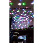 MAXLIGHT Magic Jelly DJ Ball Activada por sonido 6x 1W LED 153225 NB