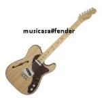 FENDER TELECASTER AMERICAN ELITE THINLINE MN NATURAL Guitar Incl Case