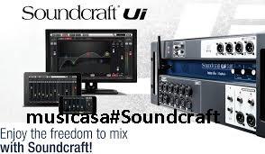 Soundcraft y su nueva serie de mezcladores digitales Ui