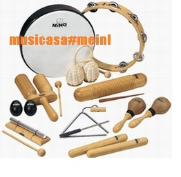 MEINL NINOSET12 Kit 12 piezas percusion infantil PACK