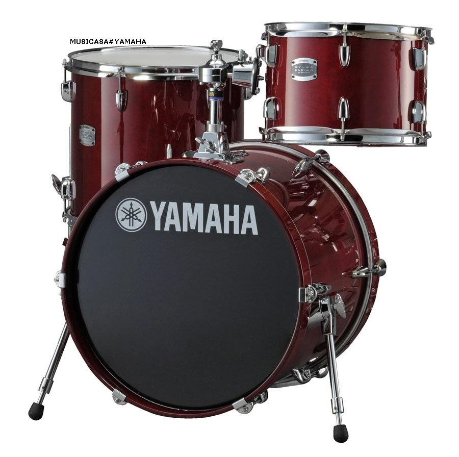 nueva bateria yamaha stage custom bebop set jazz musicasa