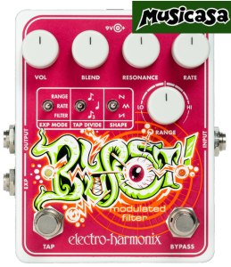 ELECTRO-HARMONIX NEW BLURST Modulated Filter pedal