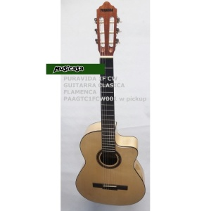 puravida-1f-cw-guitarra-clasica-flamenca-paagtc1fcw001-w-pickup