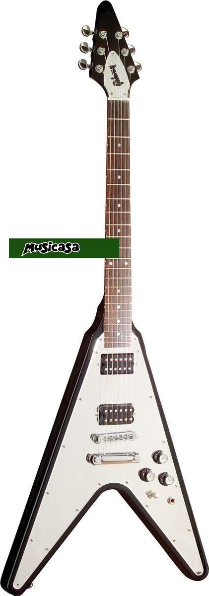 GIBSON FLYING V NEW CENTURY DSVRMEBCH1 Guitarra flecha Negra