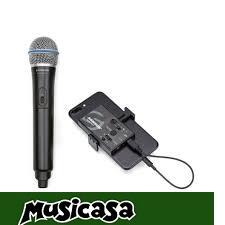 SAMSON GO MIC MOBILE Grabaciones profesionales en cualquier lado y con tu smaretphone b